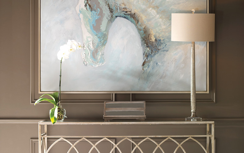Understated Glam Entryway