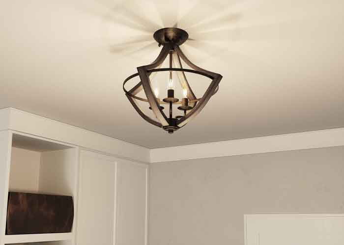 Differences Between Flush and Semi-Flush Mount Lighting
