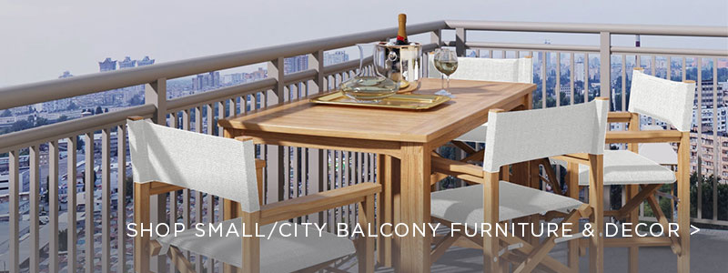 City and Small Balcony Furniture