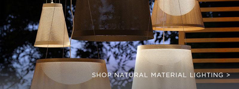 Natural Materials Lighting