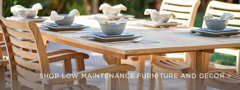 Low Maintenance Outdoor Furniture