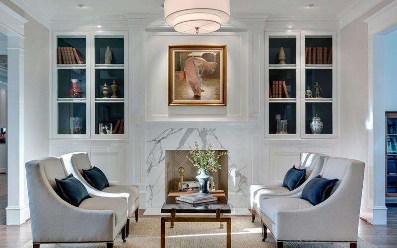 Light & Bright Scandinavian Living Room