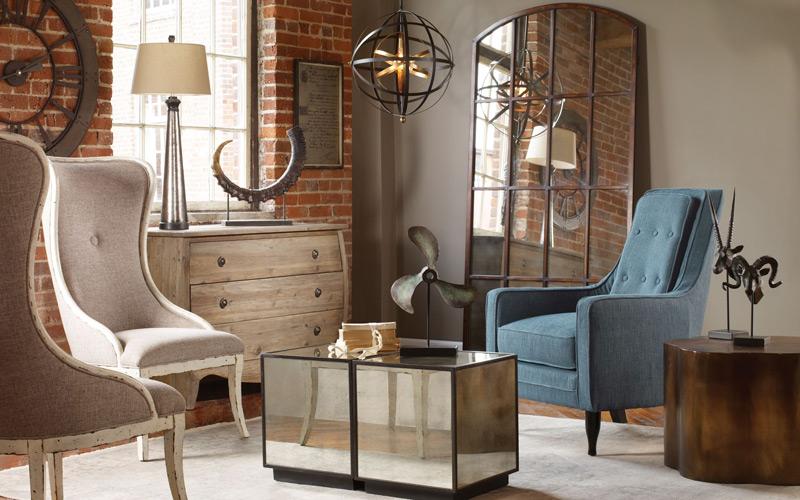 Eclectic Traveler Living Room
