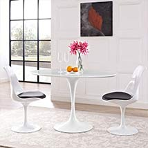 48 inch dining table glass lippa 48inch ovalshaped wood top dining table in white tables contemporary modern transitional bellacor
