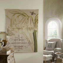 french linen jardin large tapestry - Large Wall Hangings