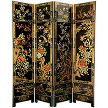 Decorative Room Dividers & Screens | Folding Privacy Screens On SALE ...