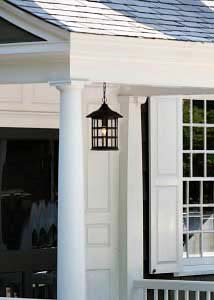 hinkley freeport oil rubbed bronze one light outdoor pendant - Porch Ceiling Lights