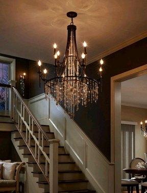 Designer lighting Modern Cascade Heritage Bronze Twelvelight Chandelier Designer Lighting Designer Lamps Luxury Chandeliers