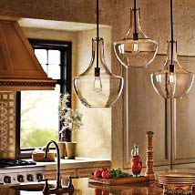 Superbe Olde Bronze One Light Pendant