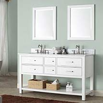 White 60 Inch Vanity Only 60 Inch Bathroom Vanity