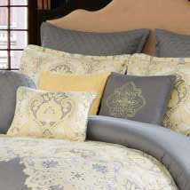10 piece queen comforter set pillows