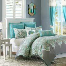 Contemporary designer bedding