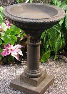 Stoneworks Regency Birdbath Garden Statuary