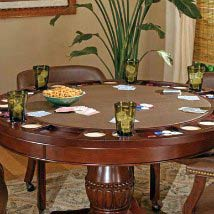 Tournament 50 Inch Round Game Table