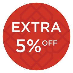 Extra 5% Off