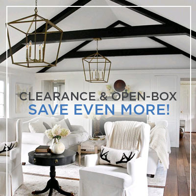 Save On Our Clearance Open Box
