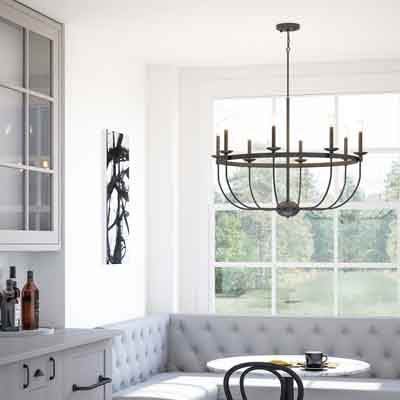 Differences Between Chandeliers and Pendants -