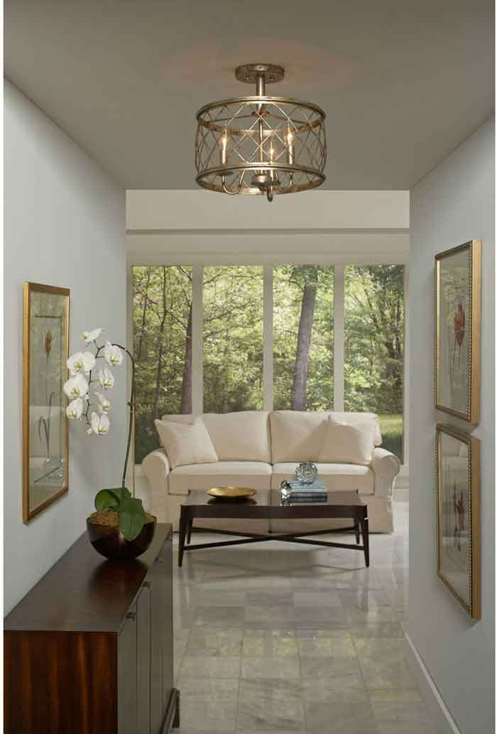 Picture of: Differences Between Flush Semi Flush Lighting Bellacor